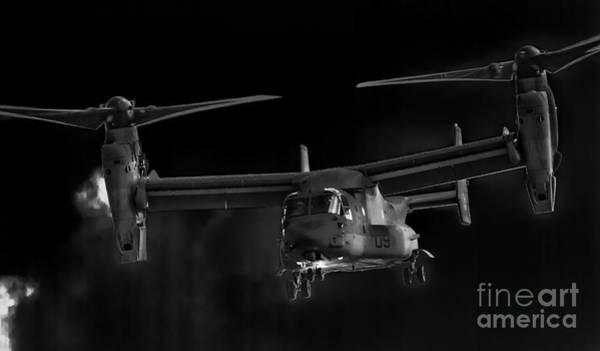 Osprey Night Ops Poster