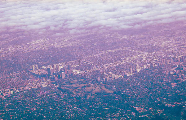 Over Wilshire And Rodeo Poster