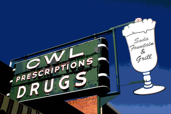 Owl Drugs  Poster