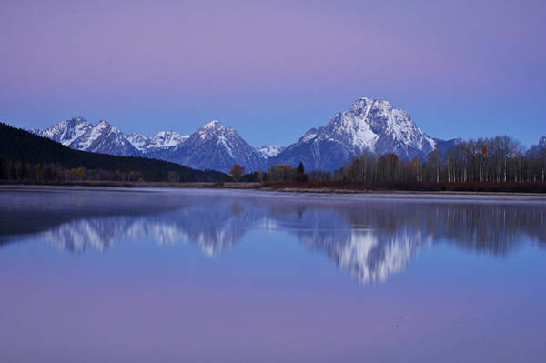 Oxbow Bend Sunrise 1 Poster