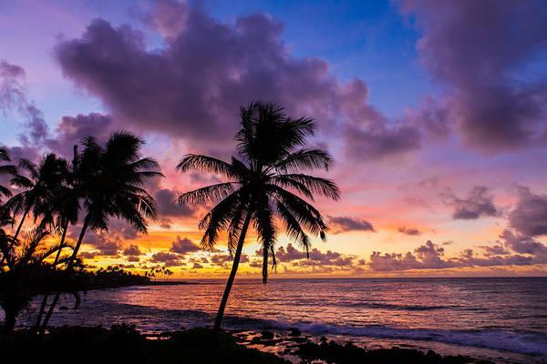 Pacific Sunrise Poster