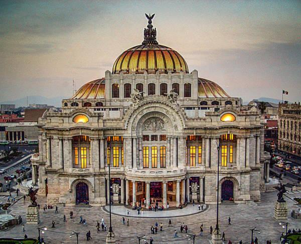 Palacio De Bellas Artes Poster