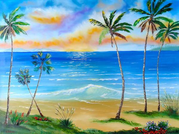 Palm Tree Paradise Poster