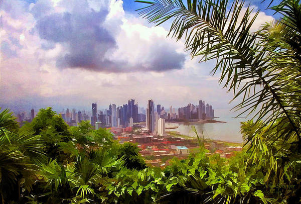 Panama City From Ancon Hill Poster