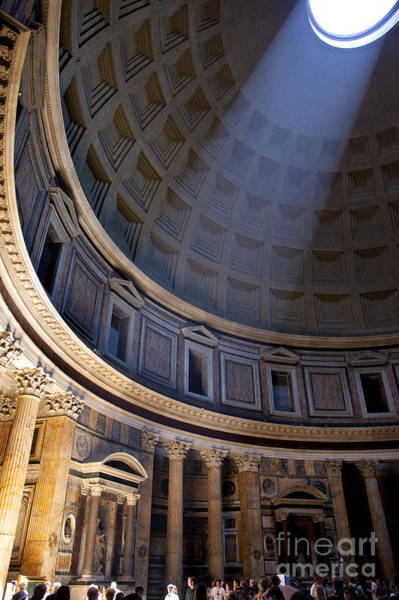 Poster featuring the photograph Pantheon Interior by Brian Jannsen