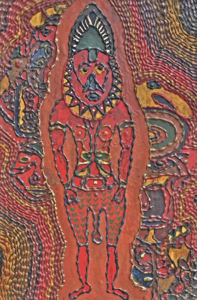 Papua New Guinea Man Poster