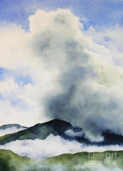 Passing Storm On Mt. Diablo Poster