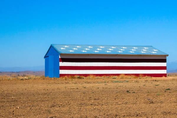 Patriotic Barn Poster