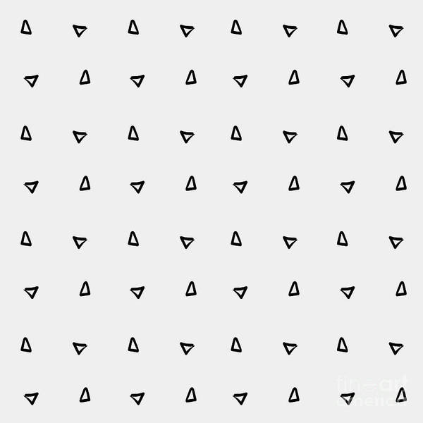 Pattern Minimalist Background Triangle Poster