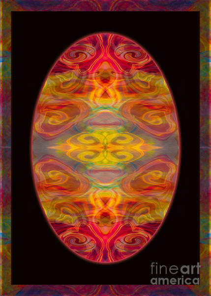 Peace And Harmony Abstract Healing Art Poster