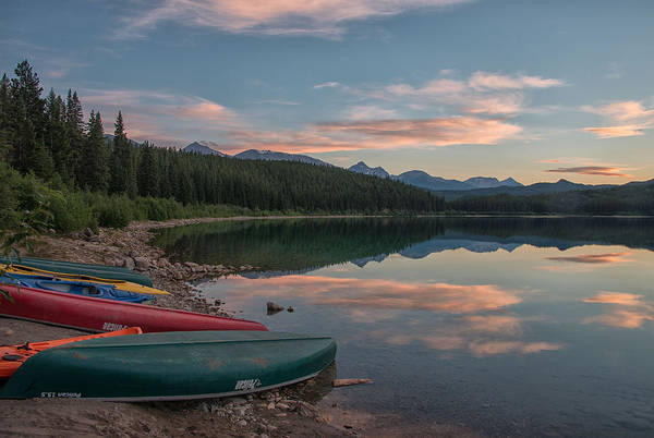 Poster featuring the photograph Peaceful Evening by Darlene Bushue
