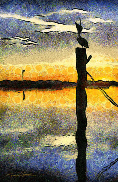 Pelican Stretch Poster