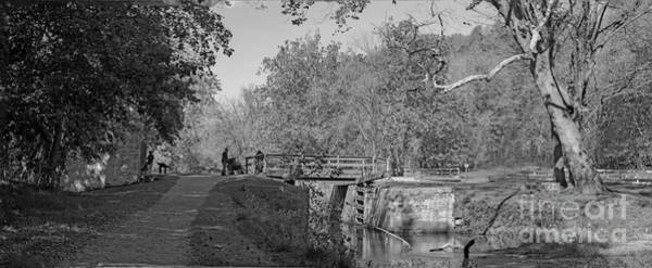 Pennyfield Lock Chesapeake And Ohio Canal Poster