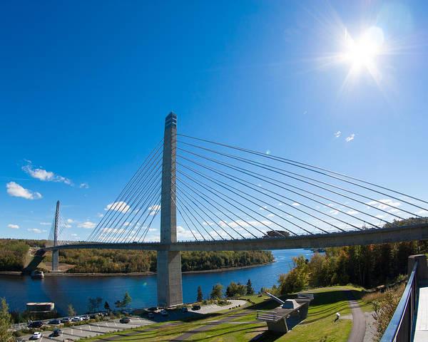 Penobscot Narrows Bridge - Maine Poster