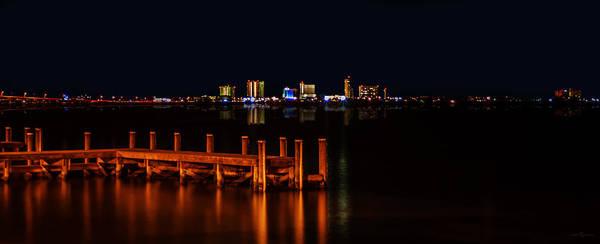 Pensacola Beach Reflections Poster