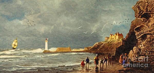 Perch Rock - New Brighton 1829 Poster