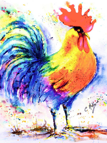 Percy Poulet Poster