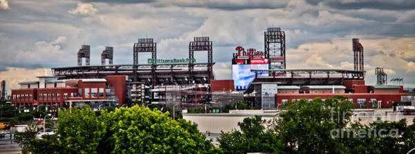 Phillies Stadium Poster