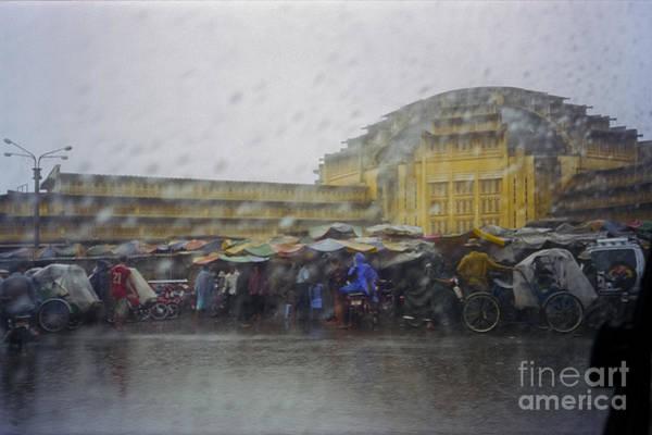 Phnom Penh Central Market Poster