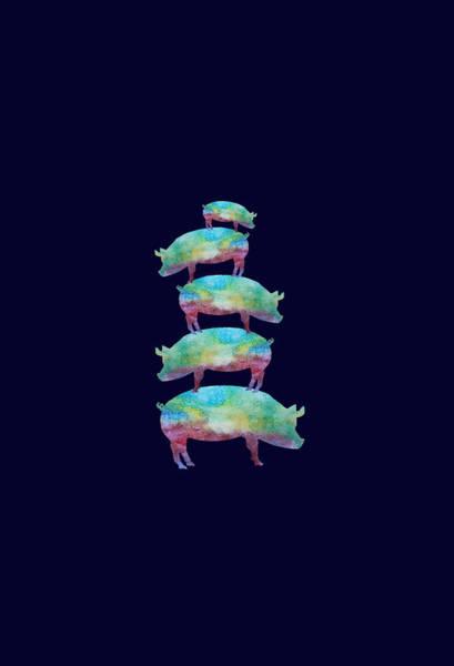Pig Stack Poster