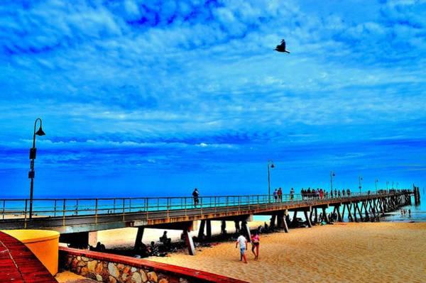 Pigeon Pier - Glenelg Beach - Australia Poster