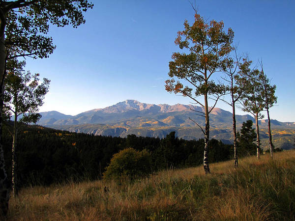 Pikes Peak Landscape Poster