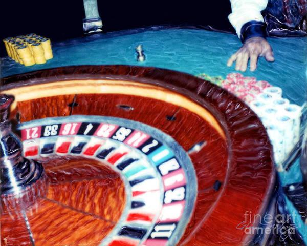 Place Your Bets Las Vegas Poster
