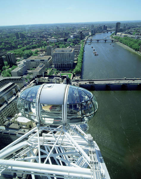 Pod Of The London Eye Poster