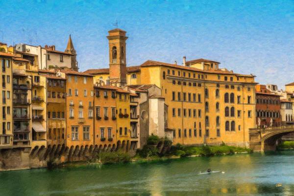 Ponte Vecchio Itl3304 Poster