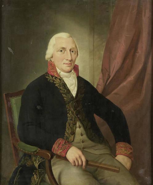 Portrait Of Albertus Henricus Wiese, Governor-general Poster