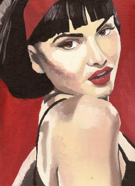 Portrait Of Jenny Bauer Poster