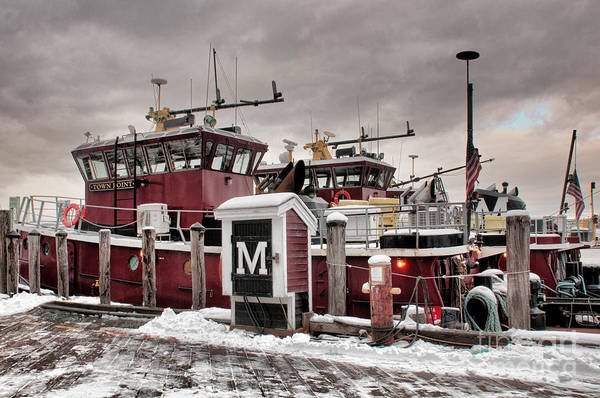 Portsmouth Tugboats Poster