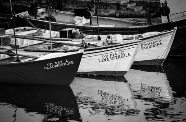 Portuguese Fishing Boats Poster