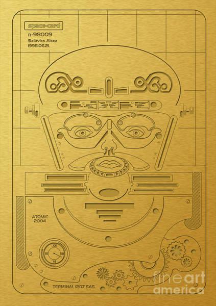 Prehistorical Astronaut Poster