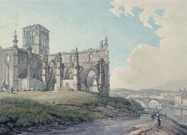 Prior Church, Haddington, 1786 Wc On Paper Poster