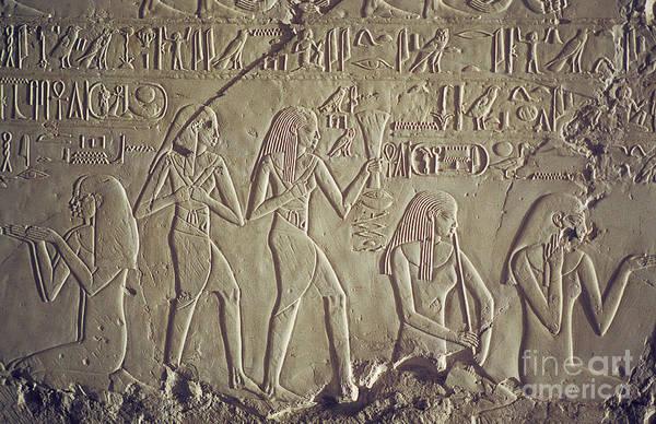Private Tomb Of Kheruef Kheruf Cheriuf Tt 192 Asasif-stock Image-fine Art Print-valley Of The Kings Poster