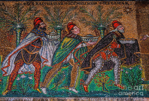 Procession Of The Magi Poster