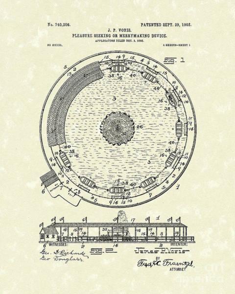 Public Stands 1903 Patent Art Poster