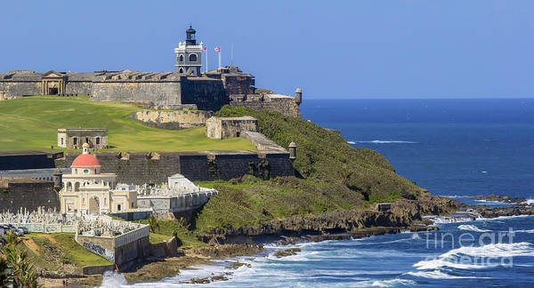Puerto San Juan Light Ocean View Poster
