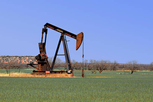 Pump Jack A Texas Icon Poster