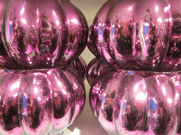 Purple Reflection Poster
