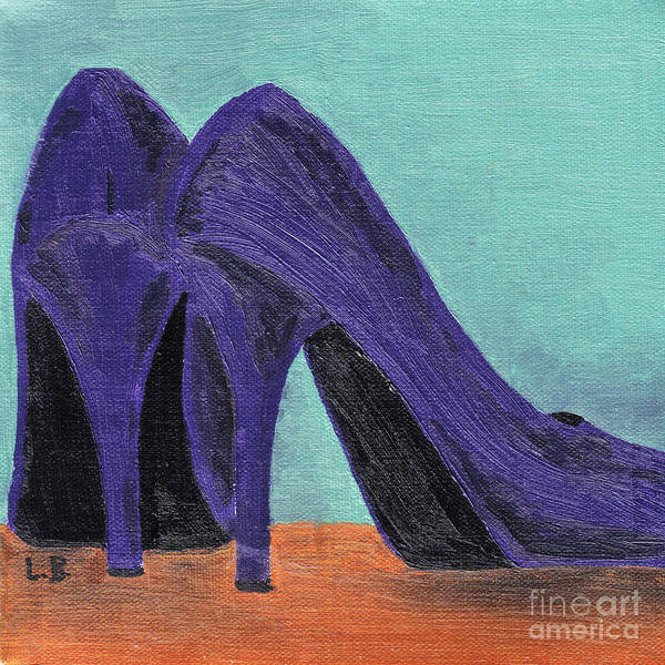 Purple Shoes Poster
