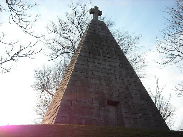 Pyramid At Dusk Poster