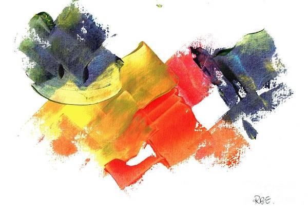 Quack Quack Abstract Duck Poster