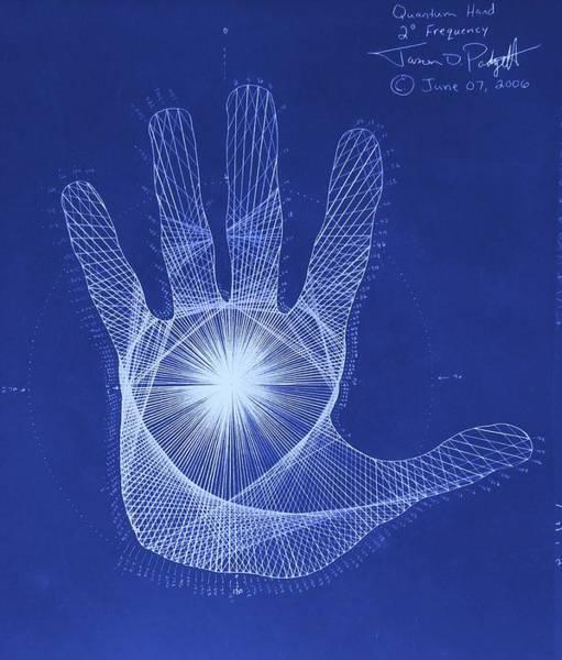 Quantum Hand Through My Eyes Poster