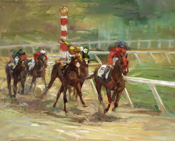 Race Horses Poster