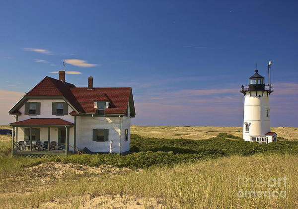 Race Point Lighthouse In Summer Poster