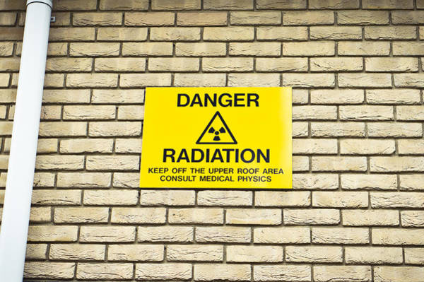 Radiation Warning Poster
