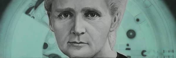 Radium- Marie Curie Poster