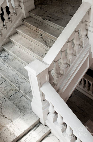 Raffle's Hotel Marble Staircase Poster